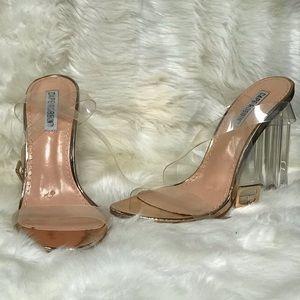 Clear heels size 5.5